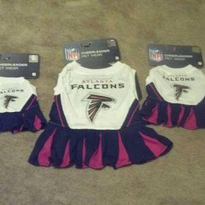 NFL Cheerleader Pet Wear Atlanta Falcons